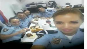 Policial boqueteira mamando o delegado