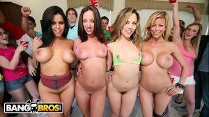 Bangbros sexo grupal com atrizes pornô safadas