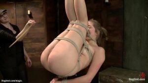 Video de escrava sexual com loira novinha safada